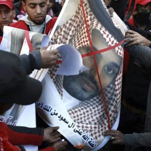 涙目のパレスチナもはやサウジも手を差し伸べない