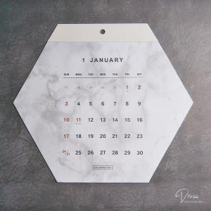 【100均】キャンドゥ*お洒落すぎる壁掛けカレンダー☆