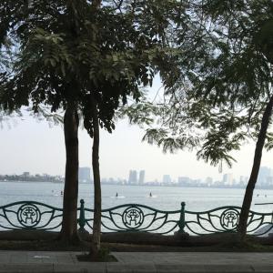 ハノイの湖散歩(タイ湖北側)