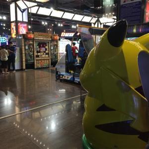 ハノイで日本なゲームセンターとアイス(イオン ロンビエン)