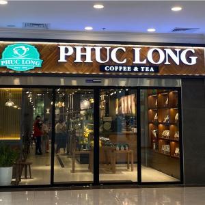 香り豊かなベトナムのお茶でほっと一息(Phuc Long)