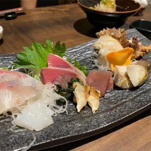 熟成魚のお造りと日本酒で、命の洗濯(はしや ハノイ)