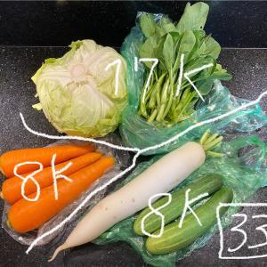 近所の市場で野菜を本気買い@ハノイ