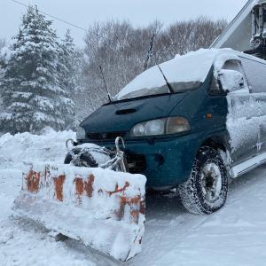 除雪マシンに助けられてます!