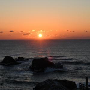 霧多布岬の朝日~エゾシカ~野鳥~モモンガ