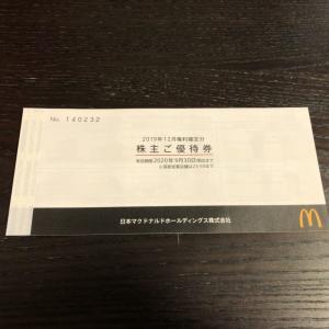 【投資】マクドナルドの株主優待