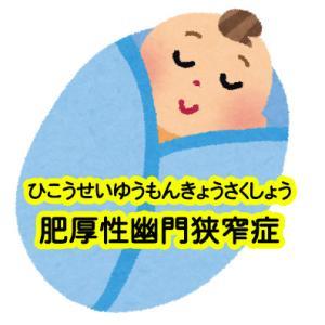 肥厚性幽門狭窄症(ひこうせいゆうもんきょうさくしょう)【ラムステッド法(手術)/硫酸アトロピン(薬物療法)】