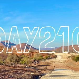 DAY210 ナミビアを旅する⑱ オプヲからナミビア最北西端『ヒンバの聖地』へ 〜秘境エプパフォールズへの行き方〜