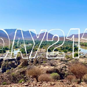 DAY211 ナミビアを旅する⑲ ヒンバの聖地エプパフォールズ 〜北西の果ての絶景の滝とアンゴラとの国境を流れるクネネリバー〜
