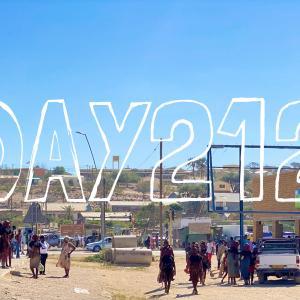 DAY212 ナミビアを旅する⑳ エプパから荷台に乗ってオフロード180kmドライブ 〜世界一美しい民族『ヒンバ』の村を訪ねる〜