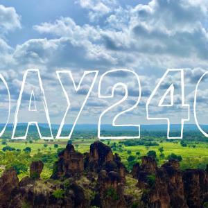DAY240 ブルキナファソを旅する⑥ ボボデュラッソから行く大自然絶景ツアー 〜岩山ピクサンドゥー&カルフィゲラの滝〜