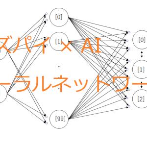 【ラズパイ】AIを動かす ④scikit-learnのニューラルネットワーク (Python3)