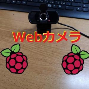【Raspberry Pi】webカメラを接続する方法