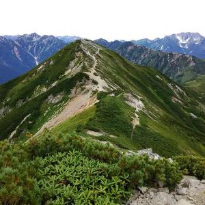 【インスタ山メモリーズ】鹿島槍に登りたかったけど爺ヶ岳登山になっちゃった(2017年9月)
