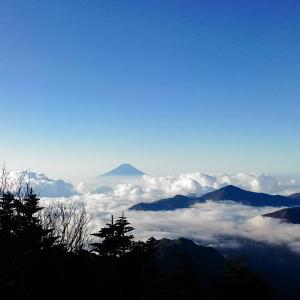 【インスタ山メモリーズ】甲武信岳にのぼる(2017年10月)