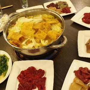 【牛】台湾産牛肉で牛しゃぶ「牛老大涮牛肉」@民権西路