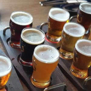 【ビ】台北:バックスキン生ビールを全種類飲み比べ!「Buckskin Beer House」@中山
