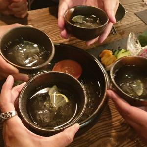 【居】再訪 : どんぶり焼酎2種類飲み!「時々炉端焼」@中山林森