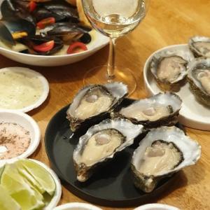 【海】再訪:生牡蠣以外のメニューも充実のオイスターバー「英国生蠔海鮮小屋(British Oysters Seafood Shed)」@圓山