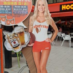 【B】台北:ハッピーアワーが嬉しい「HOOTERS(フーターズ)」@南京復興