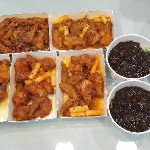 【台】台北:韓国風中華料理をお持ち帰り!「父子厨房韓式中華料理」@陽明山