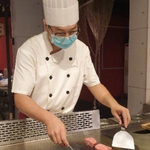 【鉄】新北市(二訪):美味しさそのまま!和牛鉄板焼き「寅蔵鉄板焼 樹林店」@樹林