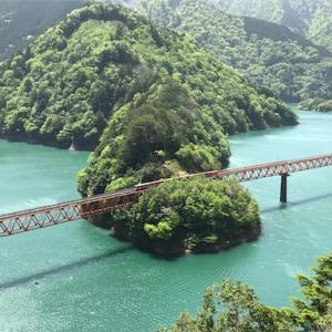 大井川鉄道井川線② 奥大井湖上駅で絶景写真を狙う