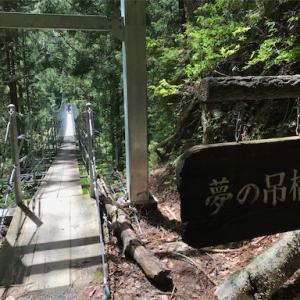 大井川鉄道井川線④ 井川の夢のつり橋・井川大仏
