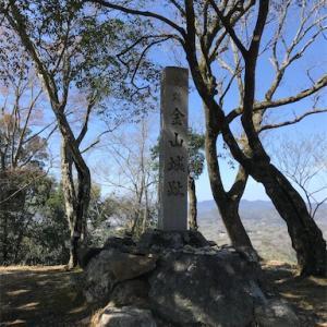 続百名城 美濃金山城(143・岐阜県可児市) -破却された石垣が残る戦国山城