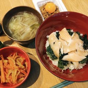 サーモン丼で楽ご飯〜