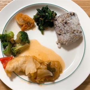 nosh:白身魚の甘酢ソース
