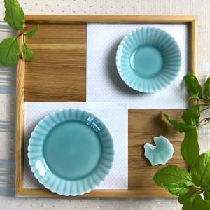 花型豆皿と懐紙を使ったテーブルコーディネート。ひと手間がポイントでおうちごはんを豊かに!