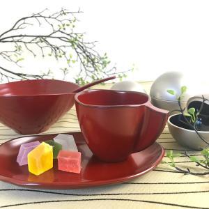 うるし手塗りコーヒーカップセット販売開始!