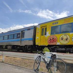 アンパンマン列車の撮り鉄