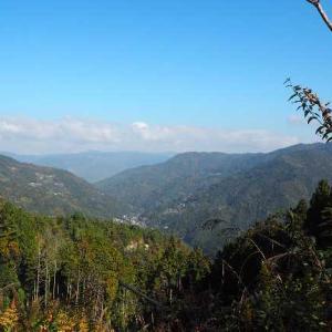 徳島県:井川スキー場からちょこっと走って、あえなくUターン。