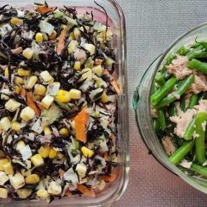 今週の常備菜と、保冷バック作りのお話