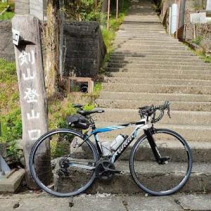 今年も、見ノ越まで自転車で登れました!