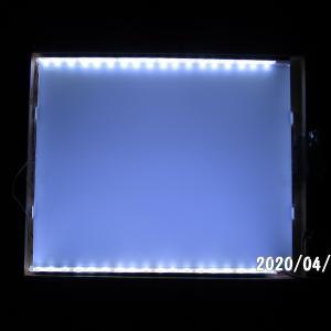 激安!フラット用LEDパネルを作りました。