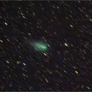 みんなで応援!アトラス彗星の勇姿(4/28撮影)