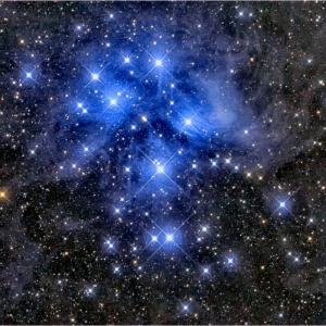 29分のプレアデス星団