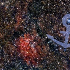 こぎつね座NGC6820&「ダイヤモンドの⚓」です!