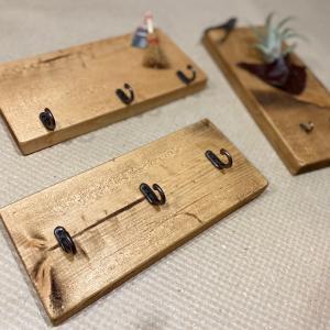 9月26日に持っていくよ〜!端材で作る木工雑貨