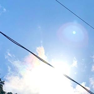 彩雲とUFOの夢 新月の朝にて。