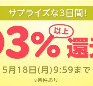 【3日間限定!】楽天リーベイツのポイント二重取りが超絶お得期間に突入!