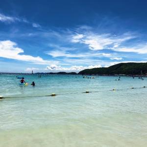 バンコク在住中に行くべき!気軽に行けるパタヤ沖合のラン島の海