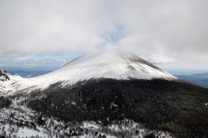 冬休みは黒斑山に登ってきました/浅間山を見に登山