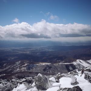 蓼科山に登ってきました