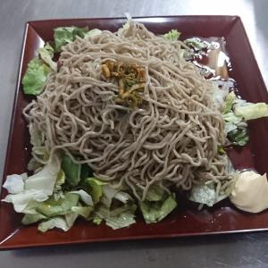【中性脂肪対策】蕎麦サラダ【レシピ】