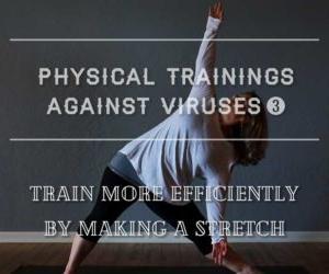 ウイルスに負けない体づくり③ 筋トレ前後のストレッチで効果的に鍛える