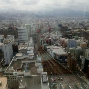 4月3日  前田武彦さん。芳村真理さん。JRタワー。二条市場。イクラ丼。